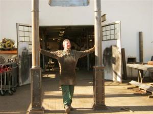Unser Werkstattleiter koordiniert die Produktion