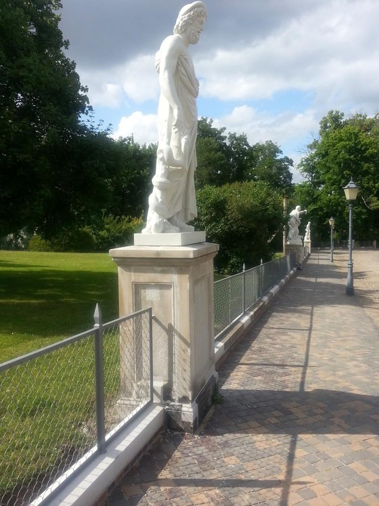 Im Jahre 2013 wurde der Zaun von ferrum rekonstruiert.